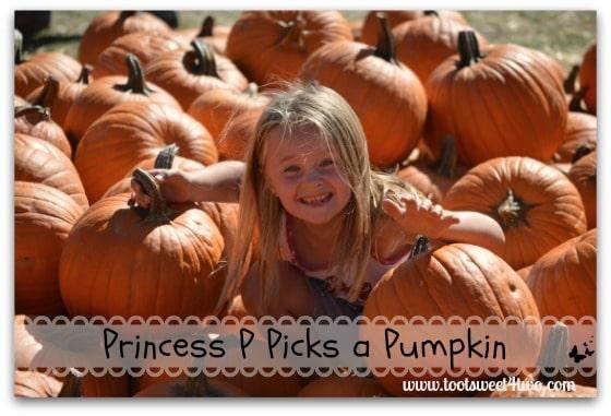 Princess P Picks a Pumpkin