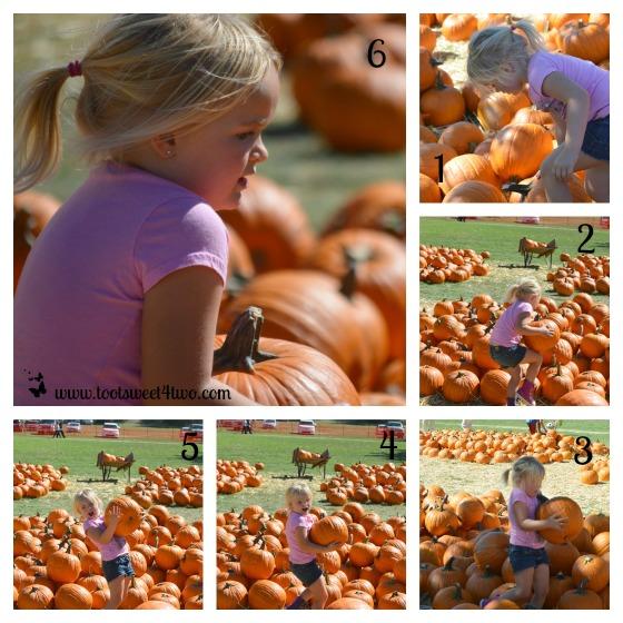 Princess Sweetie Pie and her pumpkin
