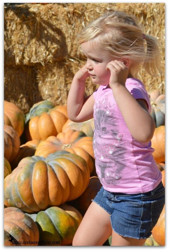 Princess Sweetie Pie in pumpkin overload