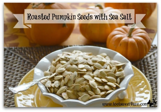 Roasted Pumpkin Seeds with Sea Salt