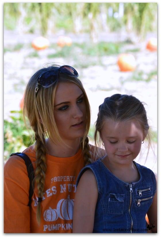 Samantha confers with Princess P