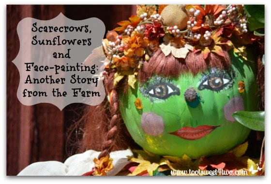Scarecrows, Sunflowers and Face-painting