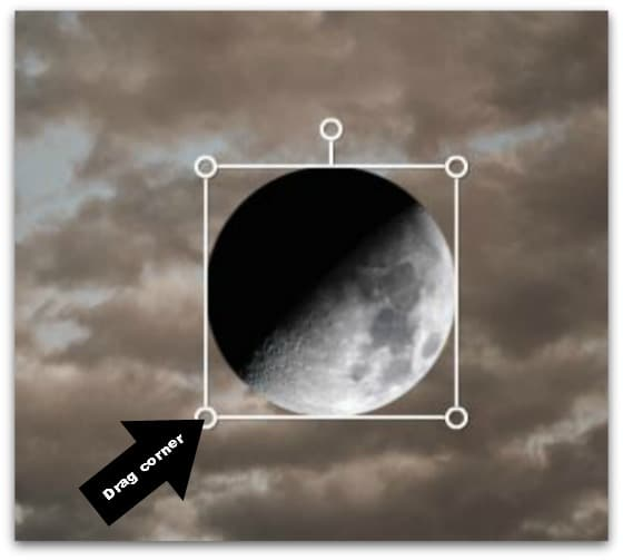 Step #8 - Resize your moon