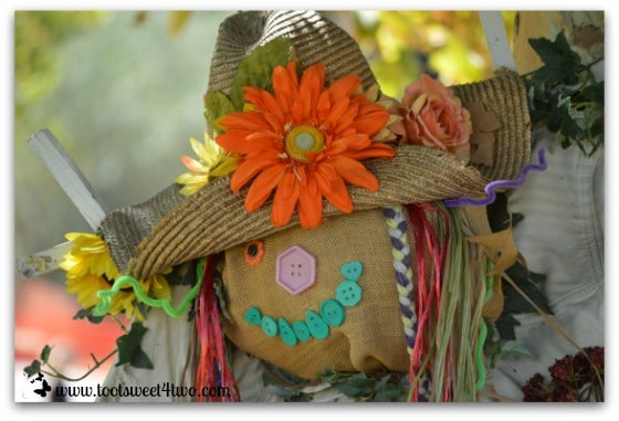 Sunflower Scarecrow