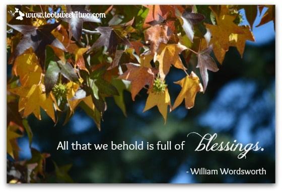 Behold Blessings