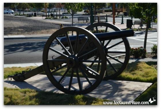 Cannon at Veterans Park