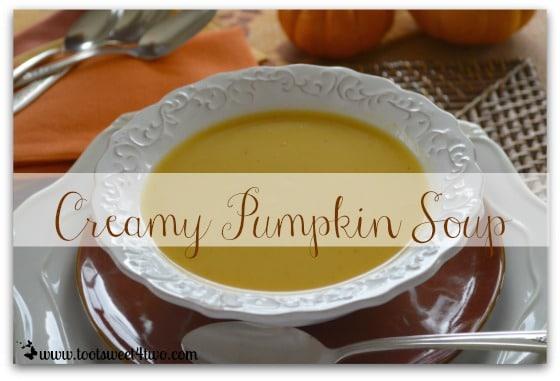 Creamy Pumpkin Soup cover