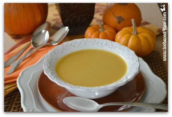 Creamy Pumpkin Soup ready-to-eat
