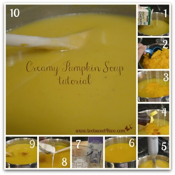 Creamy Pumpkin Soup tutorial