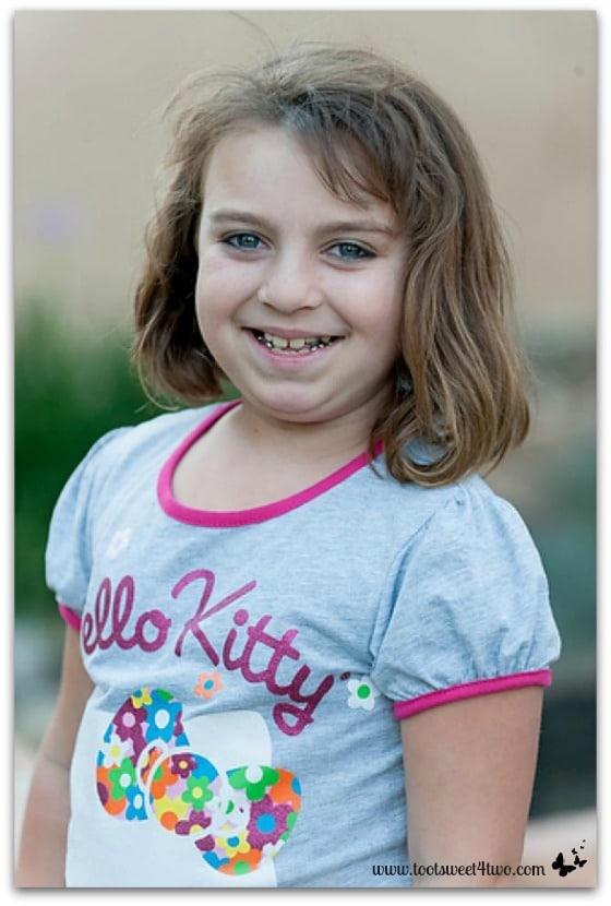 Happy 9-year-old Princess Sweet Nature