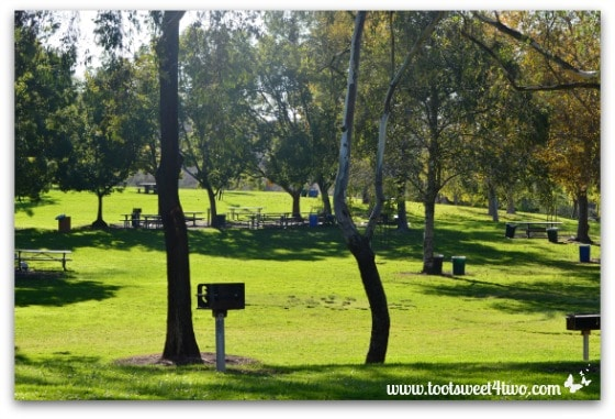 Lake Poway picnic area