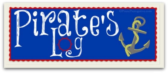Pirate's Log banner
