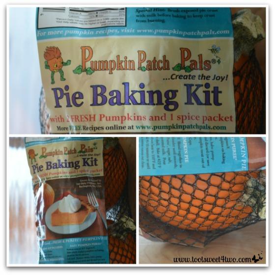 Pumpkin Patch Pals Pie Baking Kit