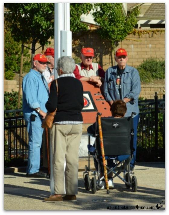 Veterans at Veterans Park