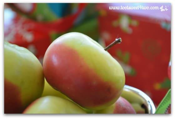 Christmas Apples close-up