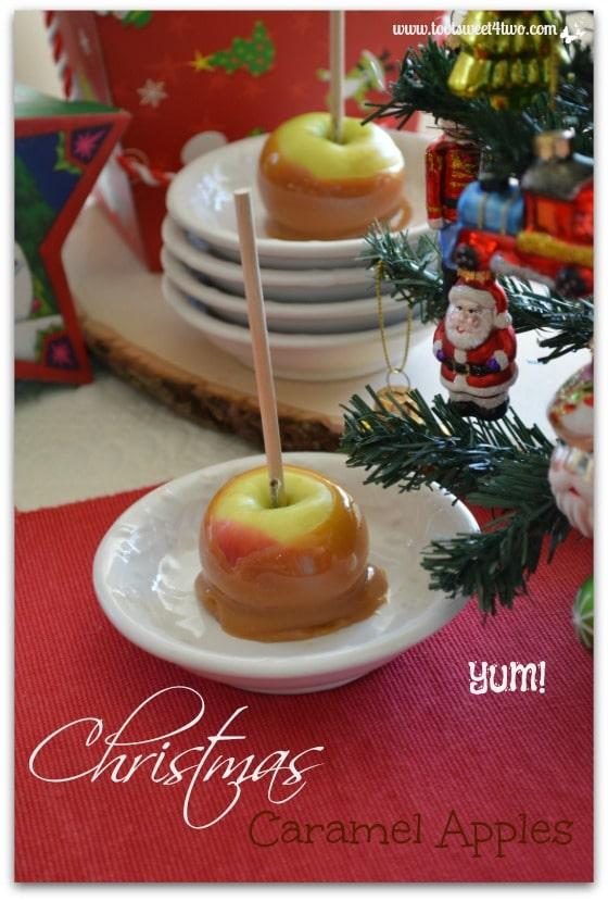 Christmas Caramel Apples Pinterest 2