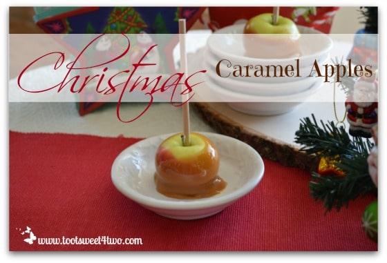 Christmas Caramel Apples cover