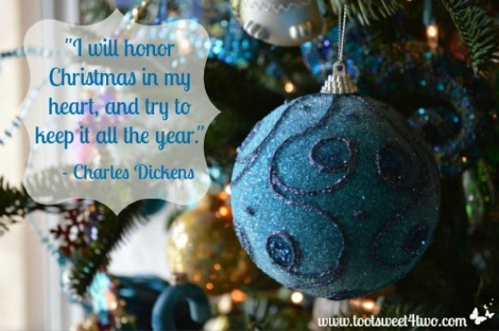 December 2013 Favorite Quote - Honor Christmas