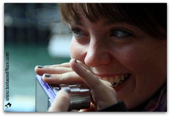 Erin smiles