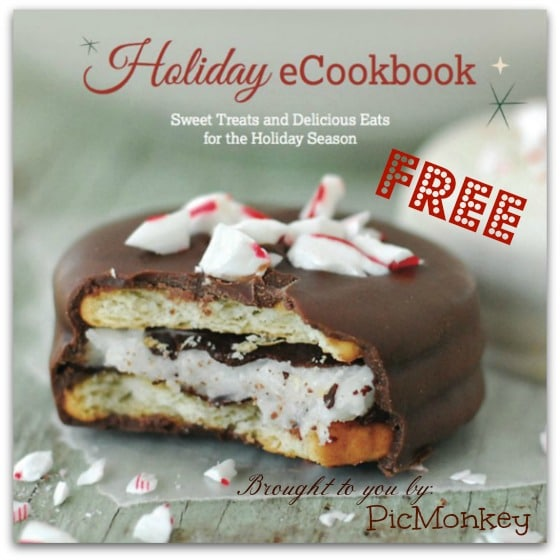 Free Holiday eCookbook from PicMonkey cover