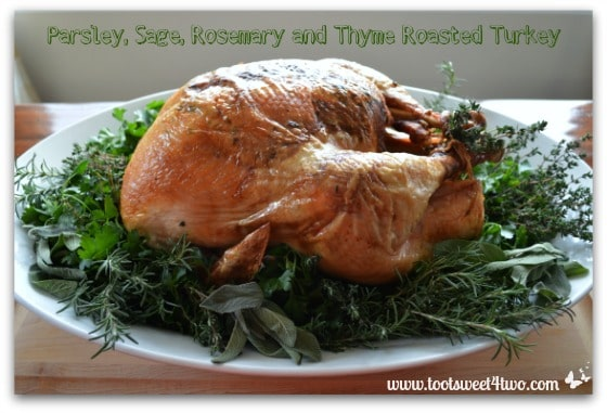 Parsley, Sage, Rosemary and Thyme Roasted Turkey cover