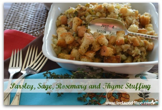 Parsley, Sage, Rosemary and Thyme Stuffing cover