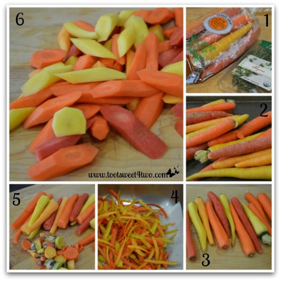 Prepping the carrots tutorial
