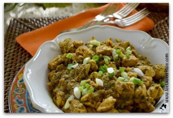 Sita's Curry Chicken close-up