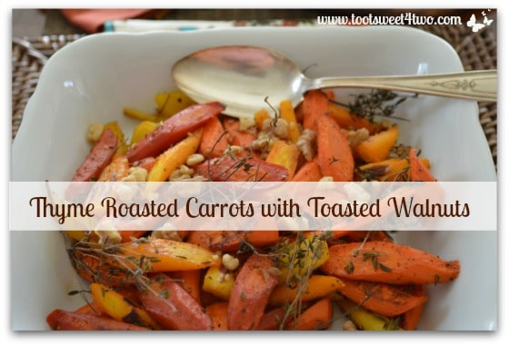 Thyme Roasted Carrots cover