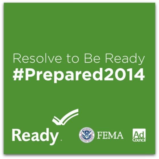FEMA Resolve to Be Ready banner by Jana Baldwin