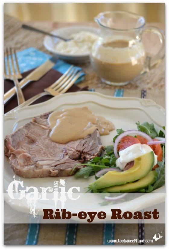 Garlic Rib-eye Roast Pinterest
