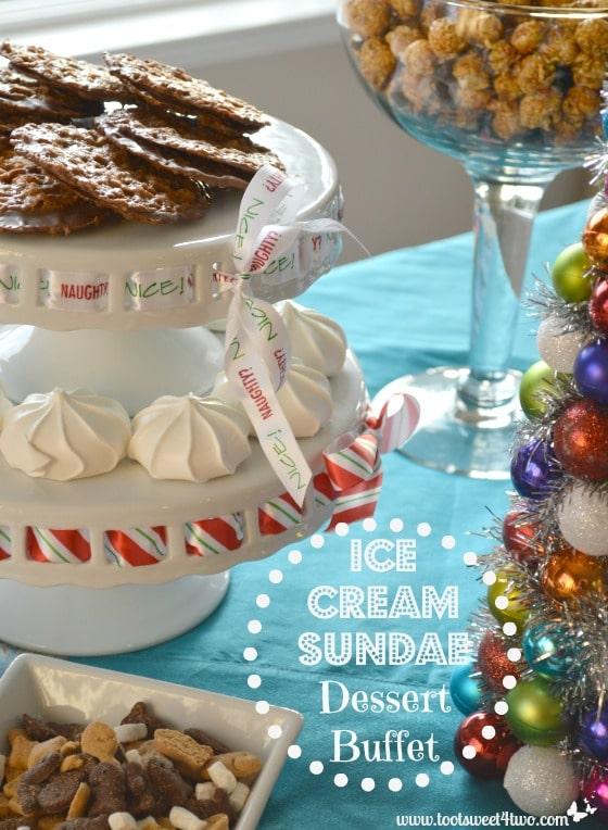 Ice Cream Sundae Dessert Buffet Pinterest