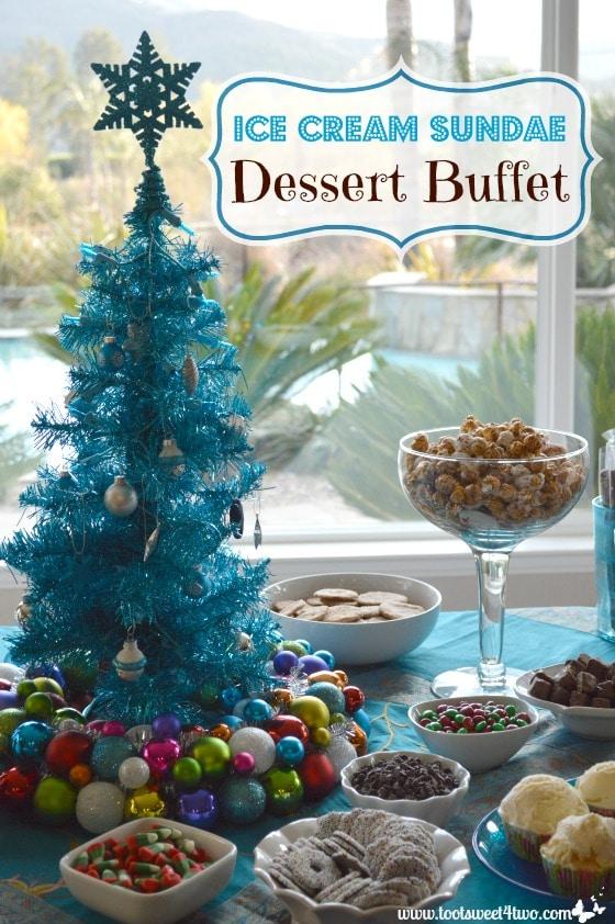 Ice Cream Sundae Dessert Buffet