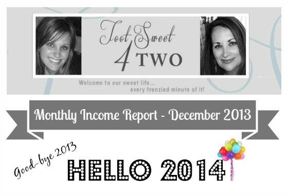 Monthly Income Report - December 2013