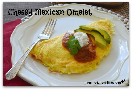 Cheesy Mexican Omelet cover