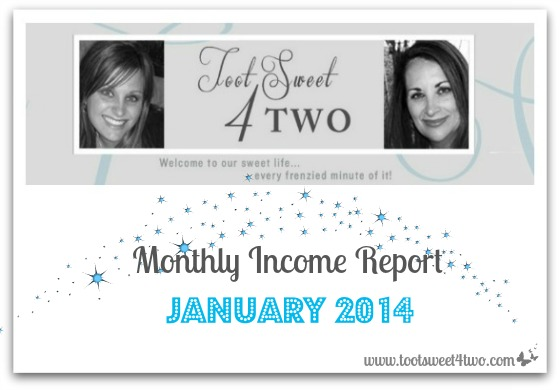 Monthly Income Report January 2014 cover