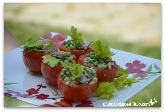 Pea Salad - horizontal
