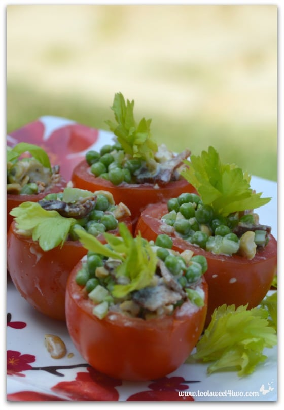 Pea Salad - vertical