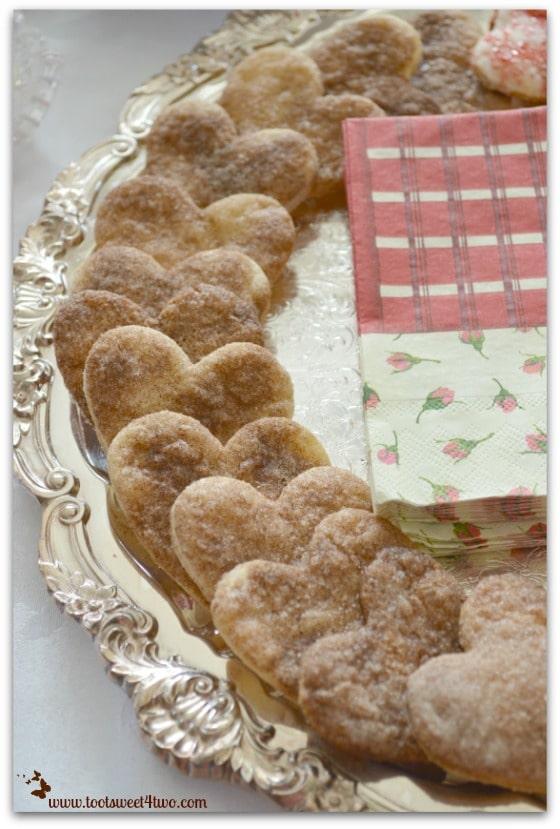 Sweetheart Cinnamon Sugar Pie Crust Cookies