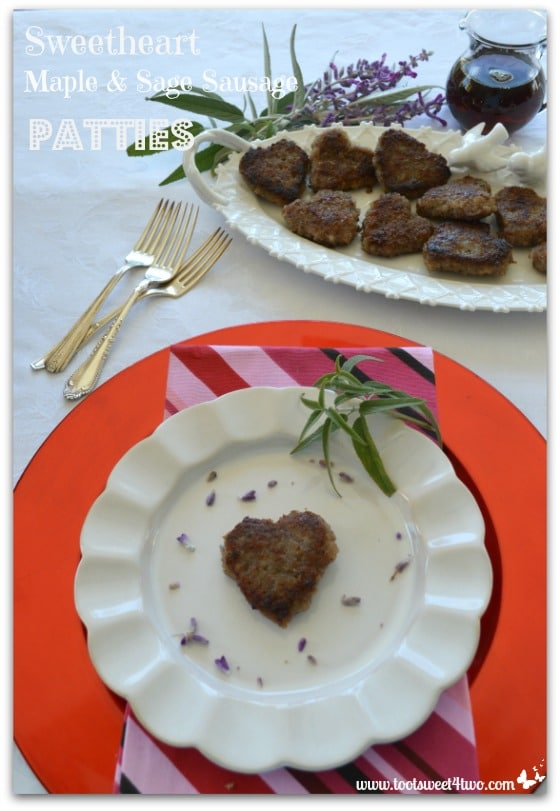 Sweetheart Maple and Sage Sausage Patties Pinterest