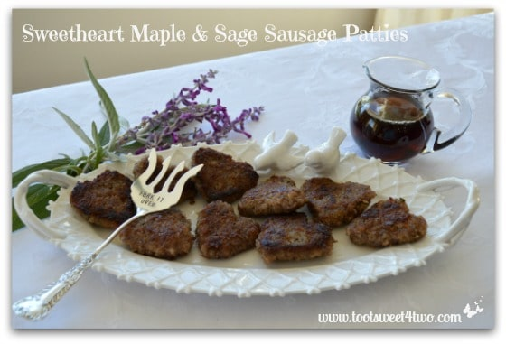 Sweetheart Maple and Sage Sausage Patties cover