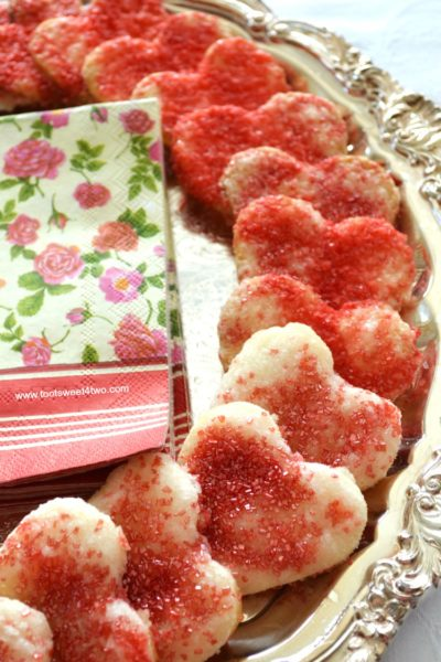 Sweetheart Pie Crust Cookies for Valentine's Day