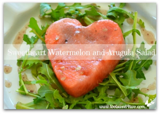 Sweetheart Watermelon and Arugula Salad cover