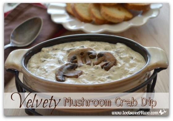 Velvety Mushroom Crab Dip cover