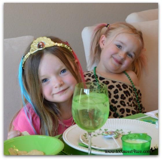 2 Four-Year-Old Irish Princesses