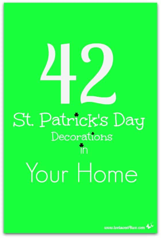 42 St. Patrick's Day Decorations in Your Home cover