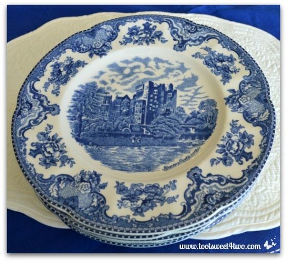 Blarney Castle plates