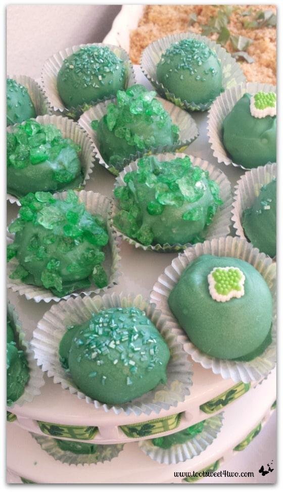 Blarney Stone Cake Ball Truffles