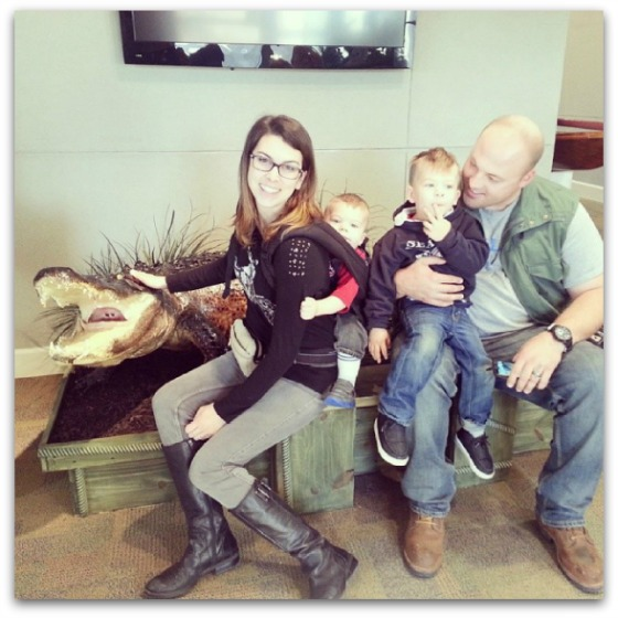 Chelsea and Nate with their sons - Millennial Blogs