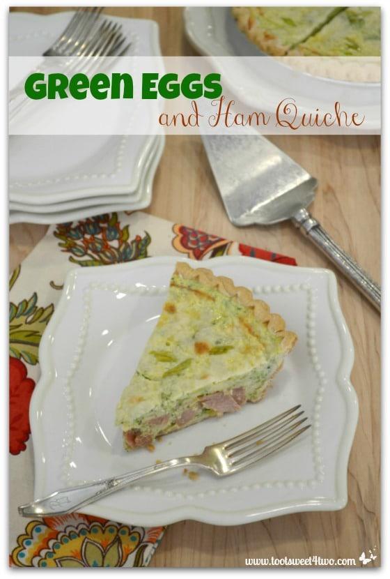 Green Eggs and Ham Quiche cover